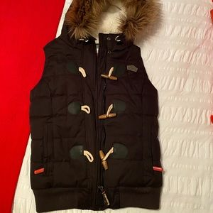 Superdry Microfibre Toggle Puffer Vest